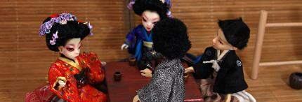 Tea ceremony AmiGaTas and AmiGaTos