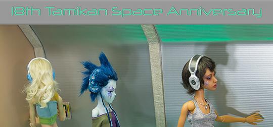 2018 Tamikan Space anniversary fanart contest